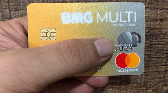 Cartão de crédito BMG