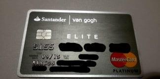 Cartão de crédito van gogh