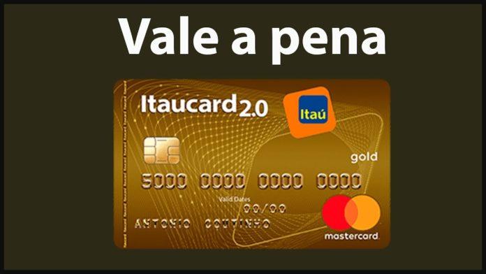 Cartão itaú gold