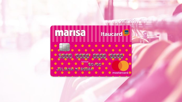 Cartão de crédito da marisa