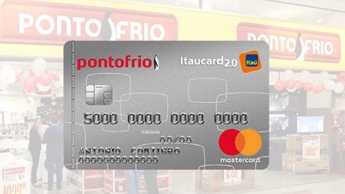 cartão de crédito ponto frio