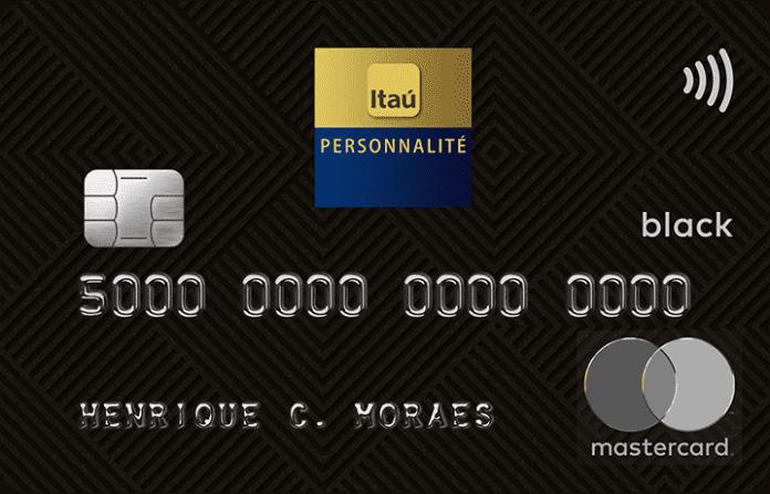 Cartão de Crédito Itaú Personnalité Mastercard Black