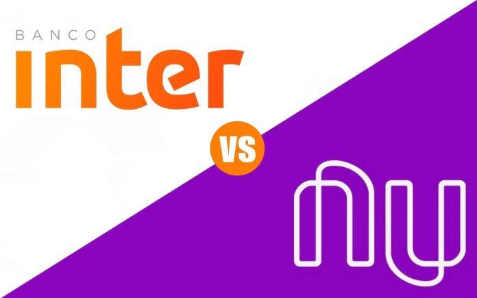 Banco Inter ou Nubank, Qual o melhor banco? Qual melhor cartão? Veja a comparação