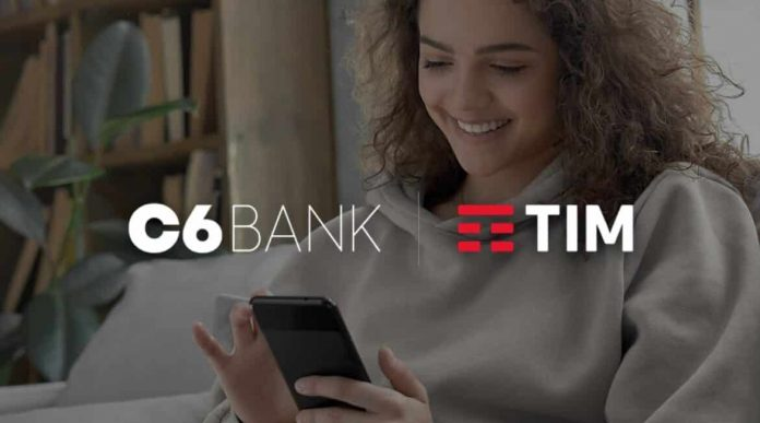 C6 Bank e TIM anunciam parceria: