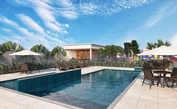 Jardim di Tívoli piscina