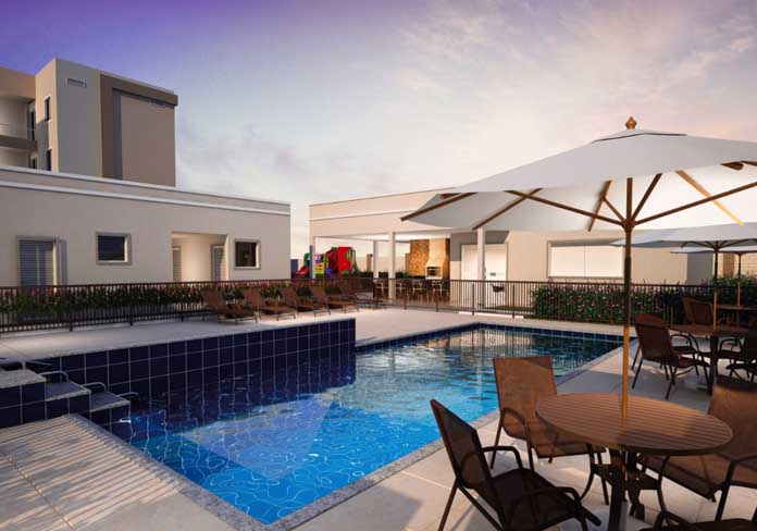 Nova Amsterdã piscina