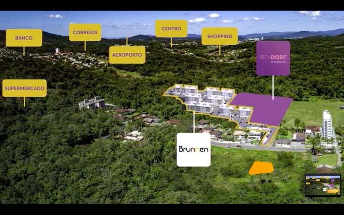 Residencial Bendorf localização
