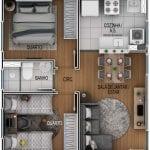 Residencial Bendorf planta baixa
