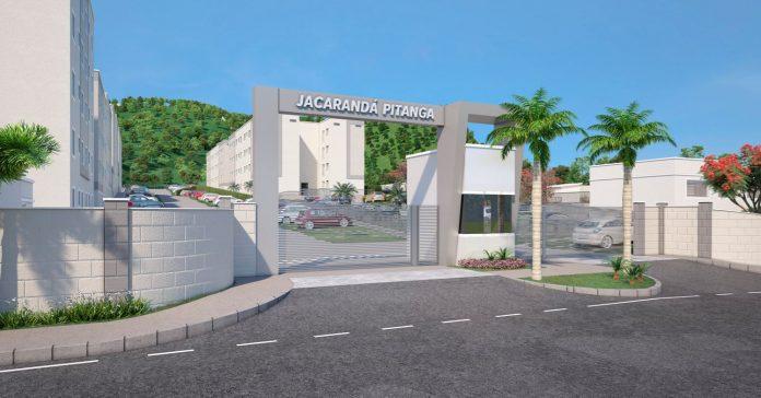 fachada do condomínio jacaranda pitanga