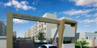 fachada do condomínio rio mantiquera