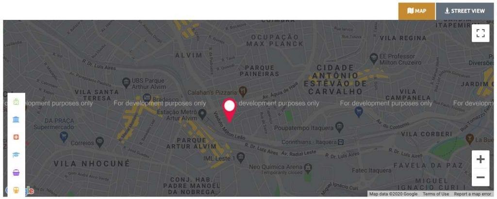 localização Connect Artur Alvim