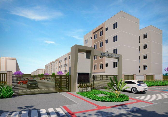 fachada do residencial residence ville