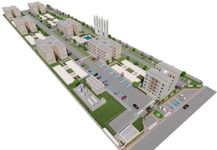 vista 3d do residence ville