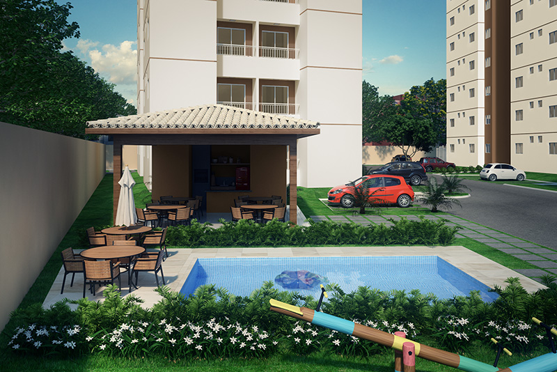Bosque Solare piscina
