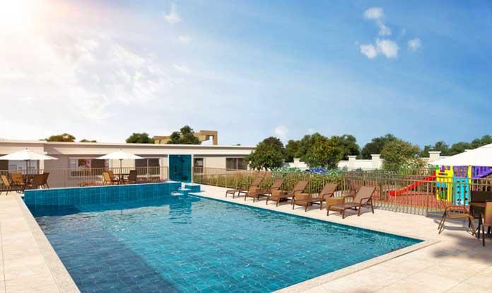 Ilha de Aruba piscina