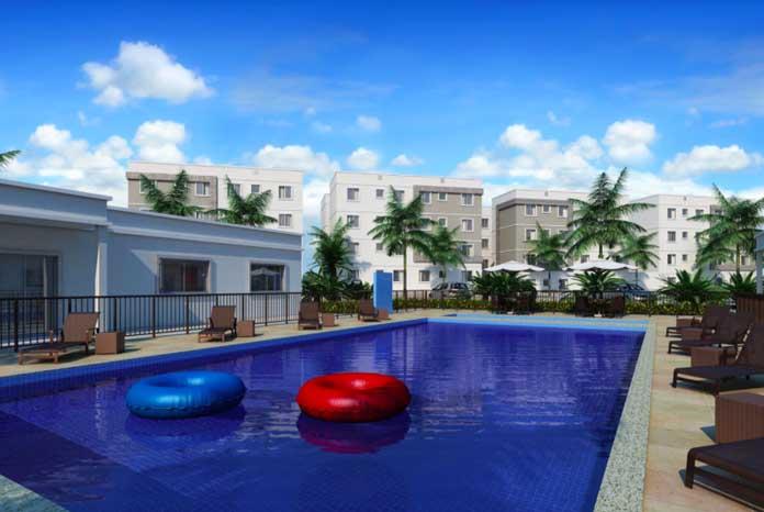 Parque Alameda Real piscina