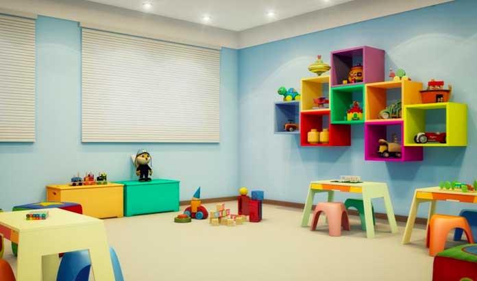 Parque Alameda da Costa kids room