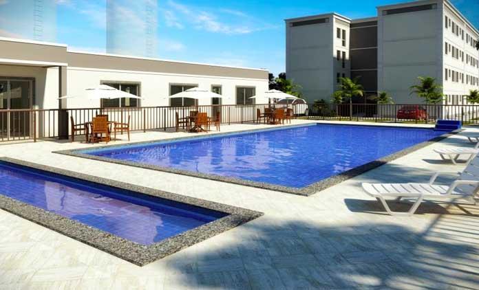 Parque Alameda da Costa piscina