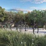 Parque das Flores bicicletário