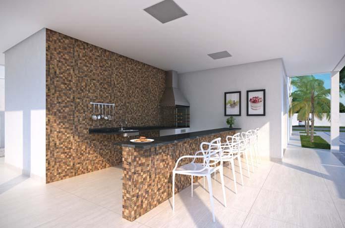 Marville Residence churrasqueira