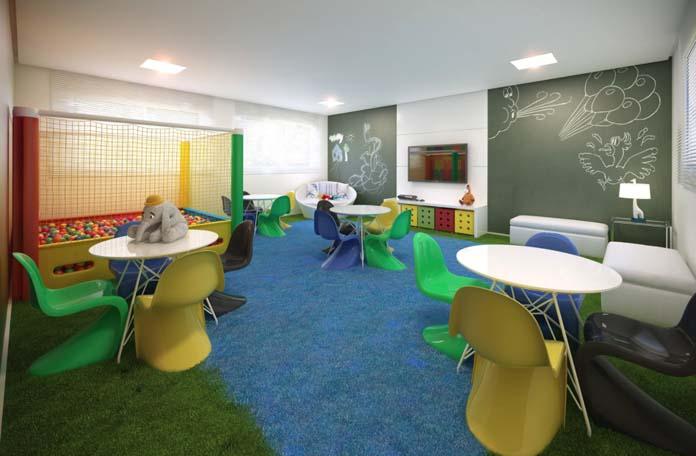 Marville Residence espaço kids