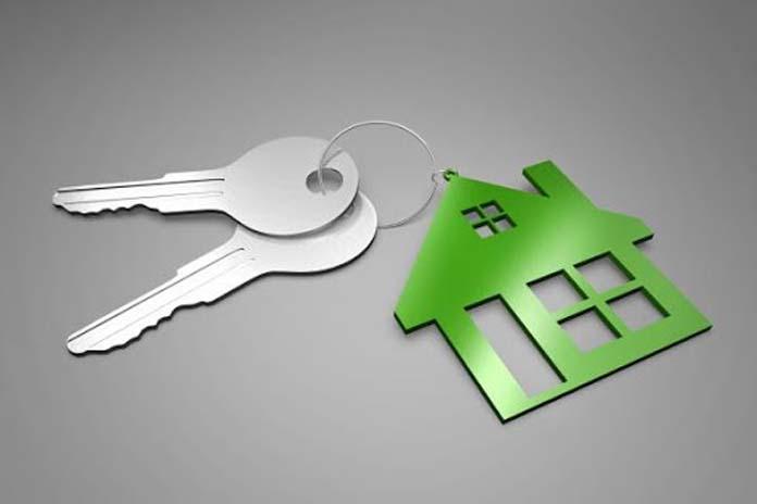 chaves e chaveiro de casa