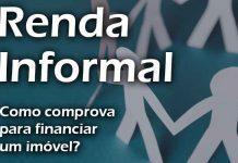 Renda informal para financiar imóvel